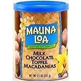 Hawaiian Lunch Bag Gift Basket Mauna Loa Macadamia Nuts Milk Chocolate Toffee 6 Cans #10 by Mauna Loa
