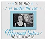 Youngs Wood 4 x 6 Mermaid Photo Frame Home Decor