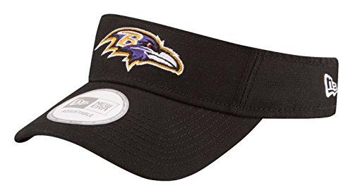 New Era NFL Baltimore Ravens Dugout Redux Visor, One Size, Black