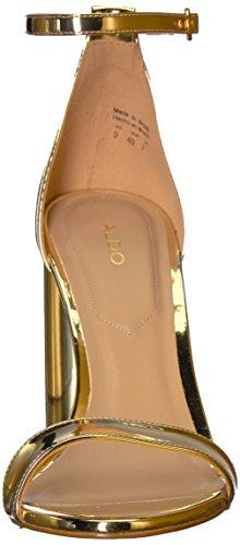 B 6 Sandal Aldo Gold Dress US Helsa Women wqXXpvfY