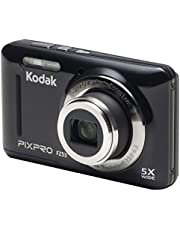 "Kodak PIXPRO Friendly Zoom FZ53-BK 16MP Digital Camera with 5X Optical Zoom and 2.7"" LCD Screen (Black) photo"