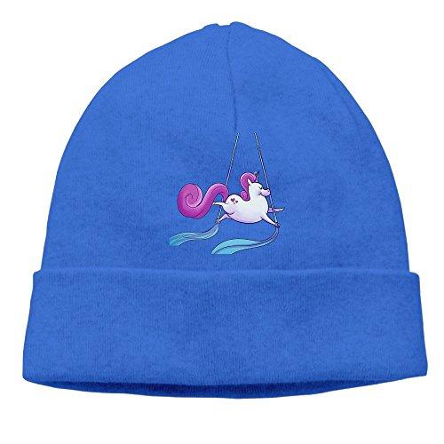 Aerial Silks Unicorn Unisex Cool Hedging Hat Wool Beanies Cap RoyalBlue By Carter Hill