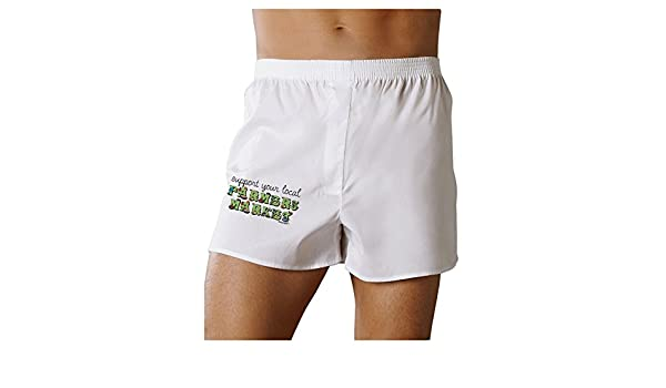 TooLoud Support Your Local Farmers Market Boxers Shorts
