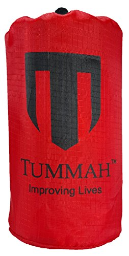 Tummah Emergency Survival Mylar Thermal Sleeping Bag / Blanket - BONUS - Receive A ''Must Read'' THE BASIC SURVIVAL GUIDE eBook with Your Order! A $14 Value Absolutely FREE by Tummah