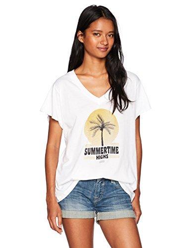 Lira Clothing Womens Summer Time Highs Soft Muscle Tank-Palm Tree Logo