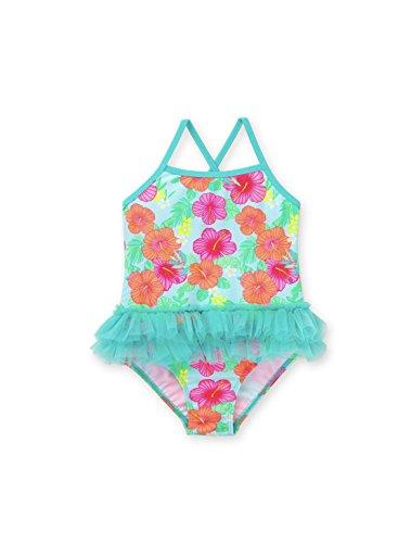 (Healthtex Toddler Girl One Piece Tutu Swimsuit Aqua Mint (Green), Size: 3T)