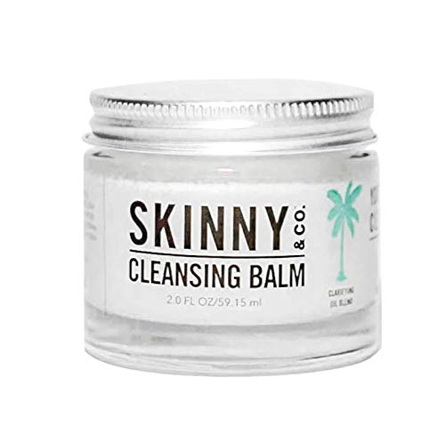 SKINNY and CO. Cleansing Balm (2oz) Coconut Oil and Essential Oils. Makeup Remover, Cleanser, Moisturizer. Chemical Free ()