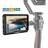 """TARION X5 Field Monitor 5"""" FHD Camera-Top Monitor Display 1920x1080 Resolution 4K HDMI Input & Loop Output 400cd/m2 High Brightness Contrast 1000:1 with Wide Angle 170° Video Monitor"""