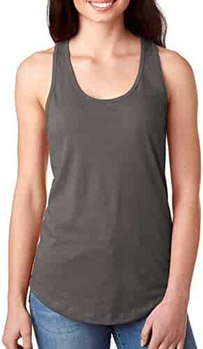 Next Level Ideal Racerback Tank Dark Gray Medium (Pack of 5)