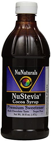 NuNaturals Nustevia пищевая добавка, какао Сироп, 16 жидкую унцию