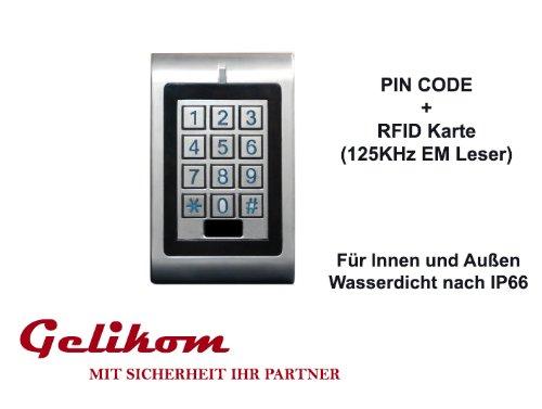 RFID und PIN Codeschloss Türöffner Transponder Passwort Code inklusive Wiegand Controller