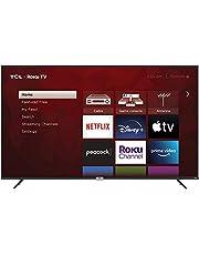 $748 » TCL 75-inch Class 4-Series 4K UHD HDR Smart Roku TV – 75S435, 2021 Model