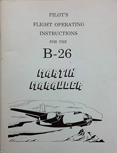 Used, Pilot's flight operating instructions for the B-26 for sale  Delivered anywhere in USA