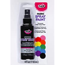 Tulip 26568 Fabric Spray Paint, Asphalt
