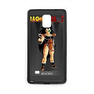 HD exquisite image for Samsung Galaxy Note 4 Cell Phone Case Black raditz dragon ball z Popular Anime image WUP0715688