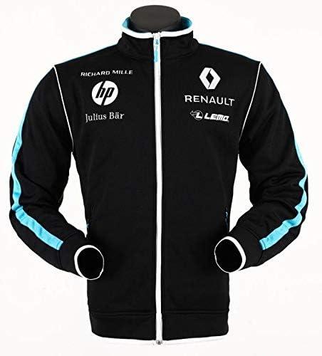 Renault E Dams Formula E 1 Sponsor Men S Full Zip Sweatshirt Black Xxxs Bekleidung
