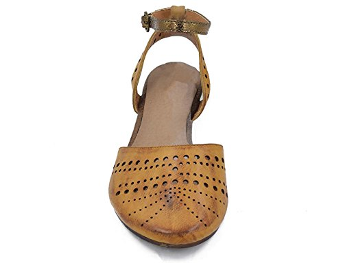 Gladiatore Cage Strappy Beige Closed Toe Max Ladies Sandali Muxun Uk Piatti Camel I7wxaXg