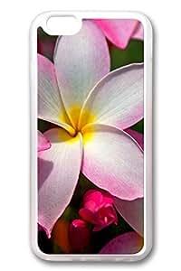 iPhone 6 Plus Case, iPhone 6 Plus Cover, iPhone 6 Plus ( 5.5 inch ) Hawaiian Plumeria Soft Clear Cases