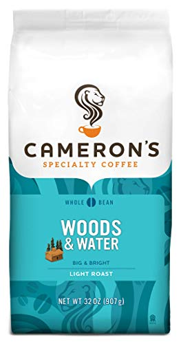 Cameron's Coffee Roasted Whole Bean Coffee, Woods & Water, 32 Ounce
