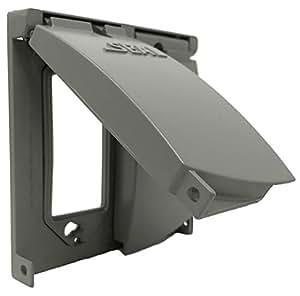 Sealproof 2 gang outdoor weatherproof metal flat - Sealing exterior electrical boxes ...