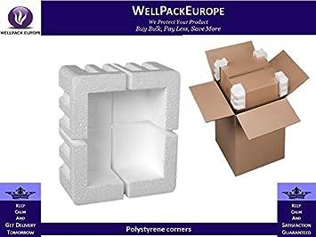 20 x esquina Edge Protectores de espuma de poliestireno expandido (– 20 x esquinas)