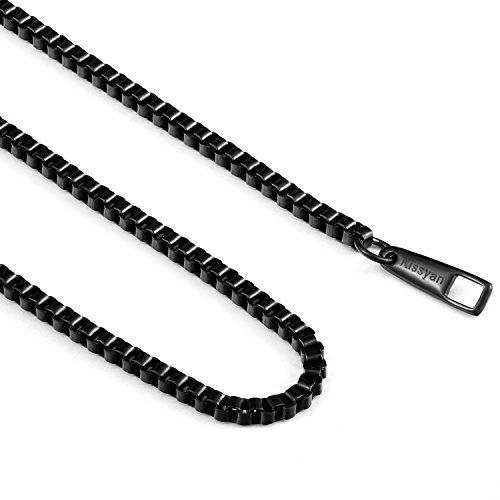 6mm Box Chain Necklace - 5