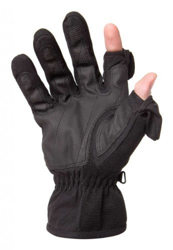 Freehands Ladies Stretch Gloves, Small, Black by Freehands