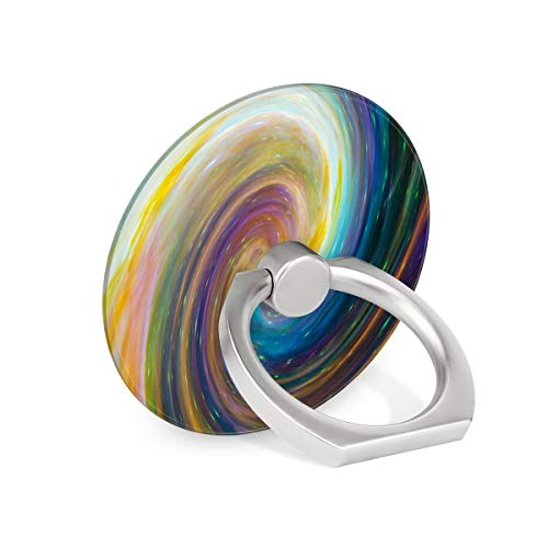 Colorful Swirl Galaxy Starry Sky Ring Phone Holder Stand Mounts for iPhone iPad, Samsung Other Smartphones ()