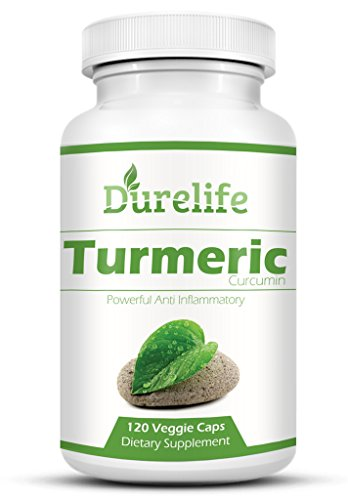 TURMERIC CURCUMIN Supplement 120 Vegi Caps of 650 mg Per Capsule with Bioperine For a Superior Absorption Standardized to 95% Curcuminoids Is a Anti Inflammatory Pain Relief