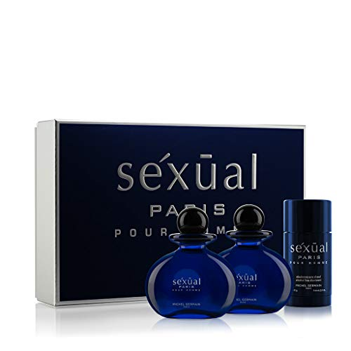 Michel Germain Sexual Pour Homme 3 Piece Gift Set, Paris