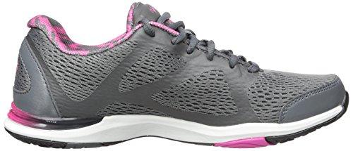 Ryka de mujer Grafik cross-trainer Shoe Gris/Rosa/Negro
