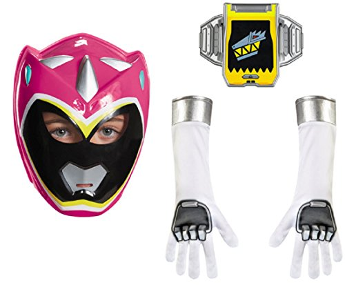 Disguise Pink Ranger Dino Charge Child Accessory Kit Costume