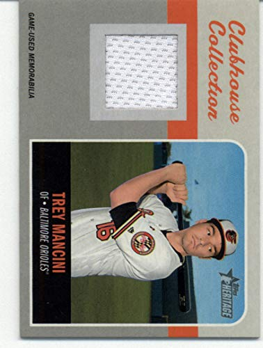 2019 Topps Heritage Clubhouse Collection Relics #CCR-TM Trey Mancini NM-MT MEM Baltimore Orioles Baseball from Heritage Products