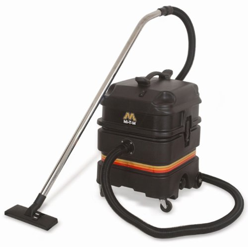 """Mi-T-M MV-1300-0MEV Wet/Dry Vaccum, 120V Two Stage Bypass, 1.6 HP, 111"""" of Waterlift, 13 Gallon"""