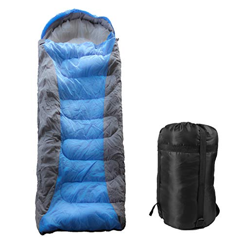 LETTON Sleeping Bag,3 Season Waterproof Lightweight Backpacking Envelope Sleeping Bags for Camping/Hiking/Outdoor,Adults & Kids