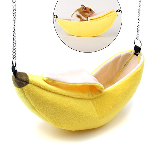 Alfie Pet - Praxis Banana Hammock for Mouse, Chinchilla, Rat, Gerbil and Dwarf Hamster
