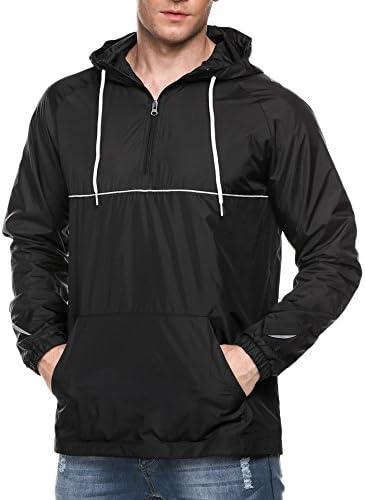 (クーファンディ)アノラック パーカー メンズ プルオーバー 防水 防風 防寒 ウィンドブレーカー フード付き ジャケット アウトドア ストリート ウェア
