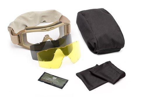 Revision Locust Desert Eyewear (Revision Military Desert Locust Goggle Deluxe - Desert Tan)