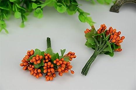 Decorazioni Matrimonio Arancione : Decorazione arancio addobbo cuore matrimonio comunione battesimo