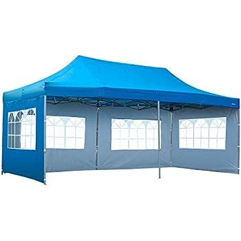 Amazon.com : KOOLWOOM 10x20 FT Pop up Canopy Carport ...