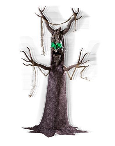 Spirit Halloween 6.5 Ft Deadly Roots Animatronics - Decorations