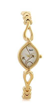 Amazon India Offer Get upto 88% off on Watches Espoir Diva Collection Analog White Dial Women's Watch