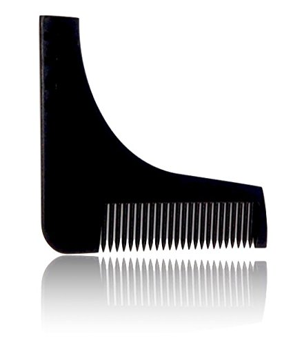 Beard template and comb by StahlBart: template shaving aid for a proper shave | beard comb