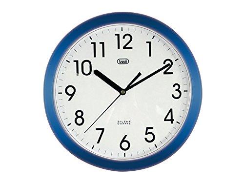 206 opinioni per Trevi OM 3301 - Orologio da Parete- Quarzo silenzioso – 25cm – Blu