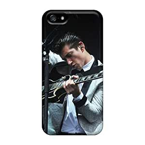 High Quality Hard Cell-phone Case For Iphone 5/5s (rkX14212vLiX) Unique Design High-definition Arctic Monkeys Band Image