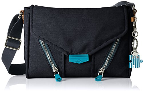Kipling Ready Now, Bolso Bandolera para Mujer, One Size Azul (Urban Blue)