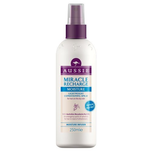 Aussie Miracle Recharge Moisture Infuser Leave-in Conditioner (250ml) (Aussie Miracle Recharge Moisture Leave In Conditioner)