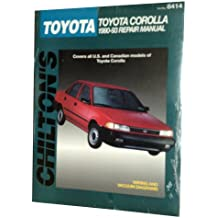 Chilton's Toyota Corolla 1990-93 Repair Manual (Chilton's Total Car Care Repair Manual)
