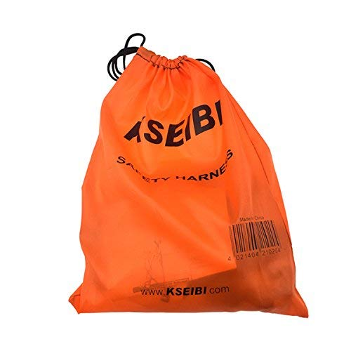 KSEIBI 421026 Fall Protection Safety Harness Kit W 3 D-Rings for Lanyard DELUXE Safety Protection Arrest and Carry Bag by KSEIBI (Image #5)