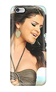 Iphone 6 Case Cover - Slim Fit Tpu Protector Shock Absorbent Case (selena Gomez A Year Without Rain)